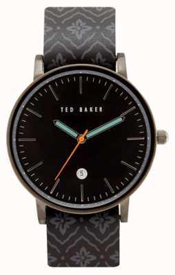 Ted Baker Mens Grey Gun Metal Case TE10030768