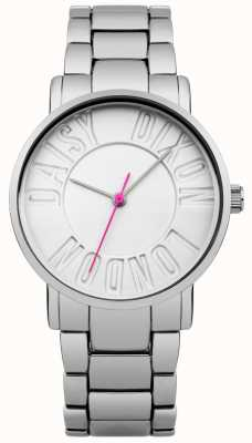 Daisy Dixon Womans Christie Stainless Steel White Dial DD035SM