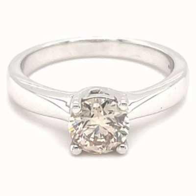 18ct White Gold 0.50ct Diamond Solitaire J26494