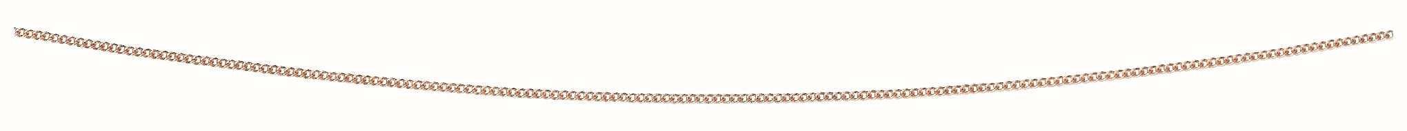 9k Rose Gold Dia Cut Chain GN219