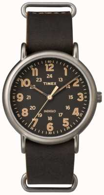 Timex Mens Weekender 40mm Titanium Case TW2P85800