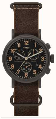 Timex Mens Weekender Oversized Chronograph Black TW2P85400