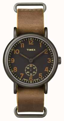 Timex Mens Weekender Oversized Chronograph Brown TW2P86800