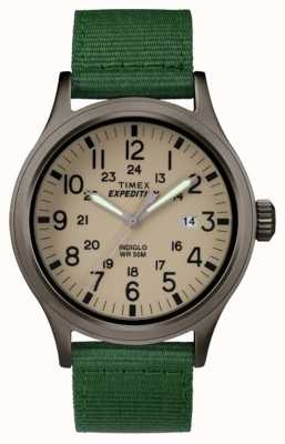 Timex Mens Expedition Scout Tan Green TW4B06800