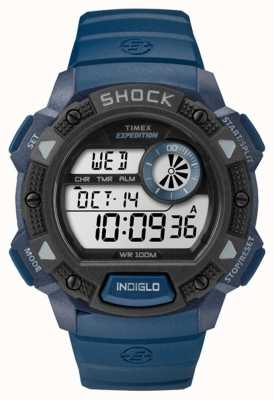 Timex Mens Expedition Base Shock Blue TW4B07400