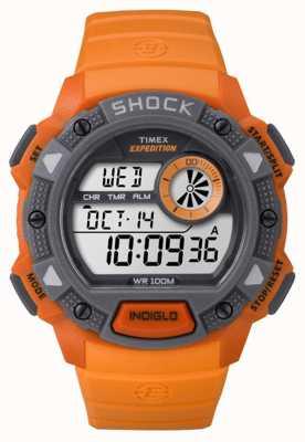 Timex Mens Expedition Base Shock Orange TW4B07600