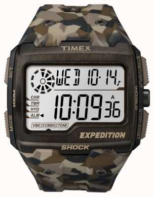Timex Mens Expedition Grid Shock Brown Camo TW4B07300