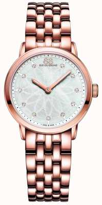 88 Rue du Rhone Double 8 Origin Ladies Rose Gold Diamond 87WA142903