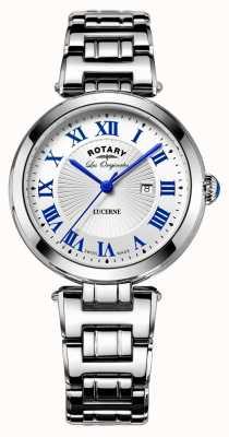 Rotary Rotary Lucerne Ladies Swiss Dress Watch 34mm LB90186/01/L
