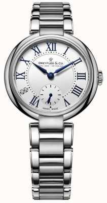 Dreyfuss Dreyfuss 1974 Stainless Steel Large Ladies Watch DLB00157/01/L