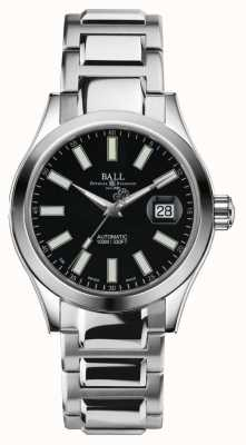 Ball Watch Company Mens Engineer II Automatic Stainless Steel Black Dial NM2026C-S6-BK