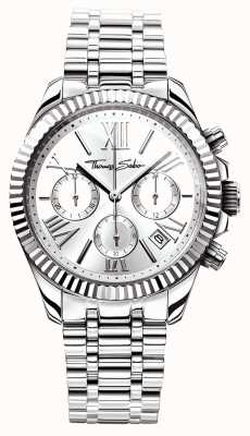 Thomas Sabo Womens Divine Chrono Stainless Steel WA0253-201-201-38