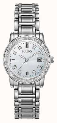 Bulova Ladies Diamond Stainless Steel 96W105