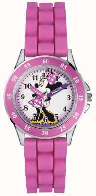 Disney Princess Childrens Minnie Mouse Pink Rubber Strap MN1157