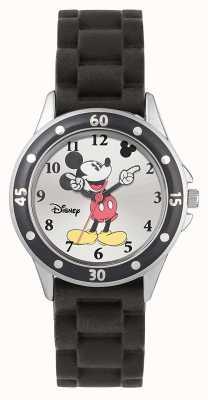 Disney Princess Mickey Mouse Black Rubber Strap MK1195