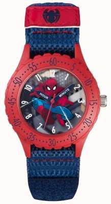 Avengers Childrens Spiderman Blue Velcro Strap SPD3495