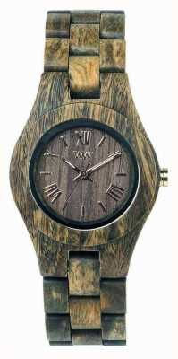 WeWood Womens Criss Army Wooden Strap 70210100
