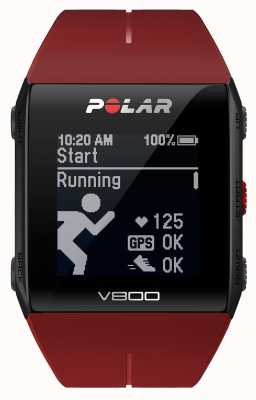 Polar V800 Red Multisport GPS (with HR) Watch 90060774
