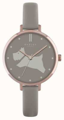 Radley Womens Go Walkies Grey Leather Strap RY2364