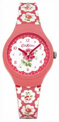 Cath Kidston Ladies Provence Pink Rose Printed Watch CKL025P