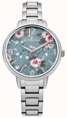 Cath Kidston Cath Kidston Trailing Rose Silver Bracelet Watch CKL001SM