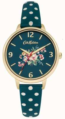 Cath Kidston Ladies Briar Rose Green Polka Dot Strap CKL004NG