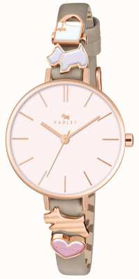 Radley Time After Time Ladies Woodland Leather Strap Watch RY2408