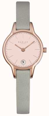 Radley Long Acre Granite Leather Strap RY2384