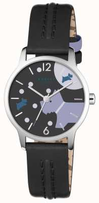 Radley Over The Moon Black Leather Strap RY2405