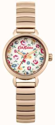 Cath Kidston Rose Gold Expander With Photo Printed Dial CKL016RGM