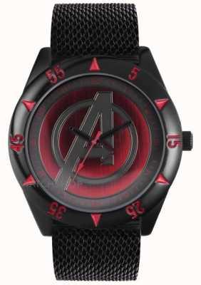 Avengers Black Mesh Strap AUM1541