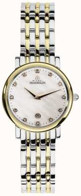 Michel Herbelin Womans Epsilon Two Tone Classic 16945/BT59