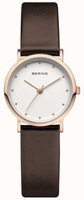 Bering Classic Rose Brown Strap 13426-564