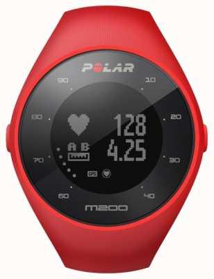 Polar Unisex Red M200 GPS M/L Wrist HR 90061217