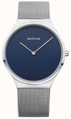 Bering Mens Classic Mesh Blue Dial 12138-007