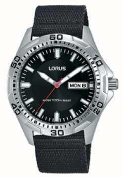 Lorus Gents Stainless Steel Day/date Watch RXN45DX9