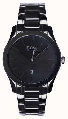 Hugo Boss Mens Ambassador Special Edition Black Ceramic Bracelet 1513223