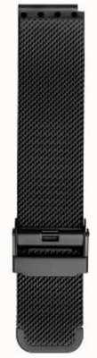 Bering Men's Milanese Black Mesh Strap PT-15540-BMBX