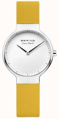 Bering Ladies Max René Interchangeable Yellow Rubber Strap 15531-600