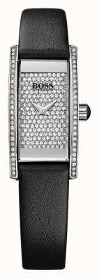 Hugo Boss Ladies Cocktail Rectangle Black Watch 1502389