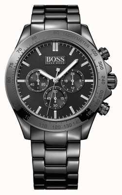Hugo Boss Gents Ikon Black Stainless Steel Watch 1513197