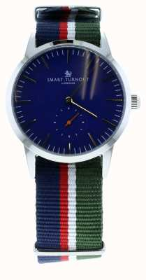 Smart Turnout Signature Watch - Navy With Ah Strap STK3/NV/56/W