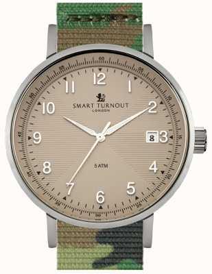 Smart Turnout Scholar Watch Beige With Camo Watch STH3/BE/56/W
