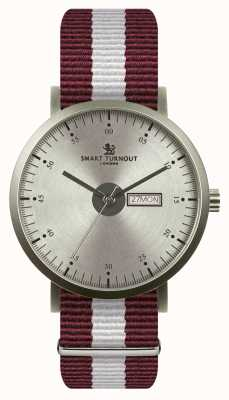 Smart Turnout City Watch - Silver With Harvard Strap STG1/SV/56/W