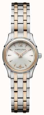 Hamilton Womans Jazzmaster Quartz Two Tone H32271155