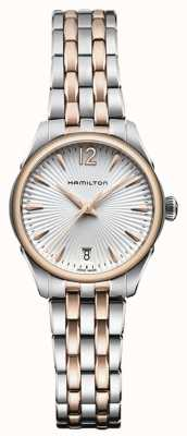 Hamilton Womans Jazzmaster Quartz Two Tone H42221155
