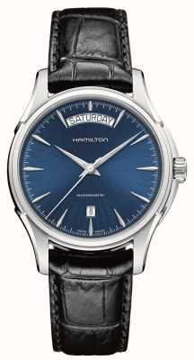 Hamilton Mens Jazzmaster Day Date Automatic Leather H32505741