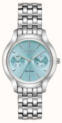 Citizen Ladies Eco-Drive Silhouette Chandler Blue Dial Watch FD4010-57L