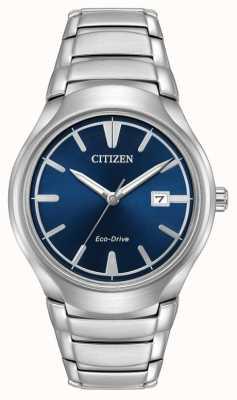 Citizen Mens Eco-Drive Paradigm Blue AW1550-50L