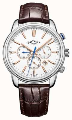 Rotary Mens Monaco Sports Chronograph White GS05083/06